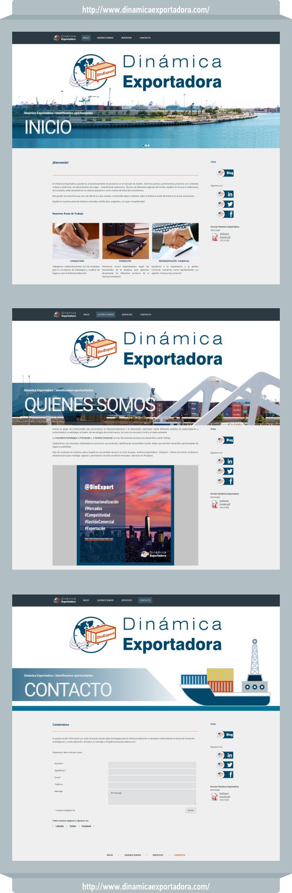 Web Dinámica Exportadora